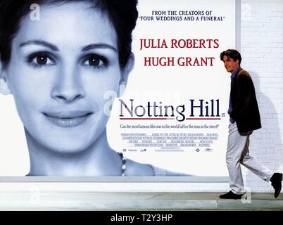 JULIA ROBERTS, HUGH GRANT, NOTTING HILL, 1999 - Stock Image