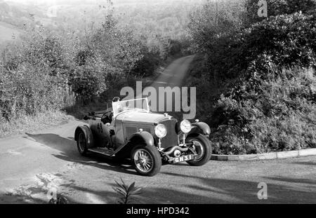 1960s Bentley Speed Six Wiscombe Hillclimb - Stock Image