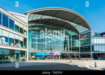 The Forum, Millennium Plain, Norwich, Norfolk, England, United Kingdom. - Stock Image