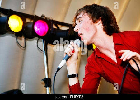 MummRa live at Underage Festival in Victoria Park London. - Stock Image