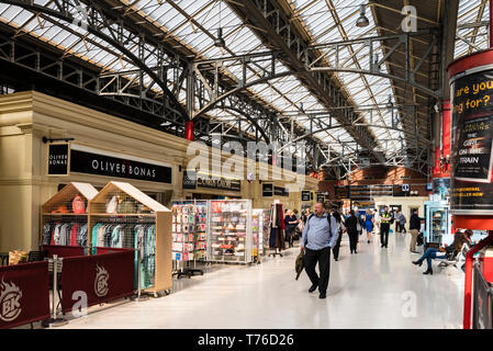 London Marylebone Station interior. - Stock Image