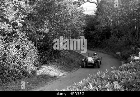 1960s Lotus 7 Wiscombe Hillclimb - Stock Image