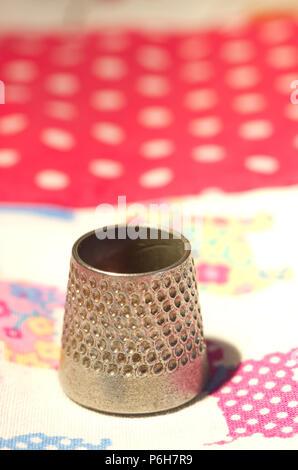 Sewing Thimble - Stock Image