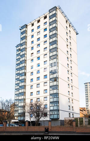 Tower block, Nottingham, England, UK - Stock Image