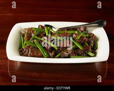 Mongolian Beef - Stock Image