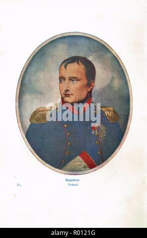 French Emperor Napoleon Bonaparte, circa 1812 - Stock Image