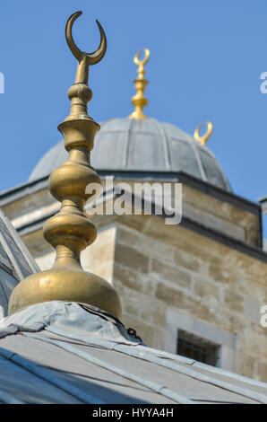 Details on the roof of a mosque in Istanbul. - Stock Image