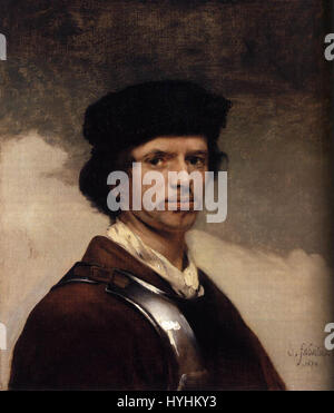 Carel Fabritius   Self Portrait   WGA7723 - Stock Image