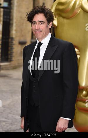 LONDON, UK. April 28, 2019: Stephen Mangan at the BAFTA Craft Awards 2019, The Brewery, London. Picture: Steve Vas/Featureflash - Stock Image