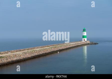Lighthouse Schleimuüde, Schlei Fjord, Kappeln, district of Schleswig-Flensburg, Schleswig-Holstein, Gemany, Europe - Stock Image