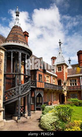 UK, England, Bristol, Colston Street, Fosters Almshouses - Stock Image