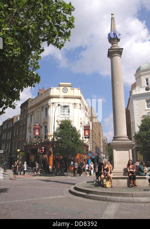 Seven Dials Covent Garden London - Stock Image