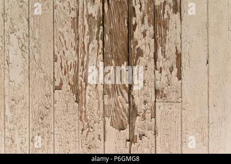Peeling paint on wood texture. - Stock Image