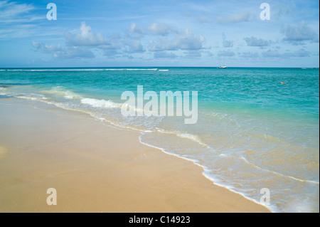 Beach, Pigeon Point, Tobago - Stock Image