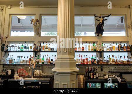 St Roch Market, The Mayhaw Bar, Marigny Neighbourhood, New Orleans, Louisiana, United States of America, USA - Stock Image