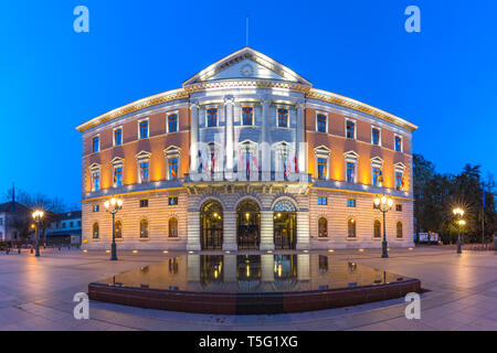 Town Hall of Annecy, France - Stock Image
