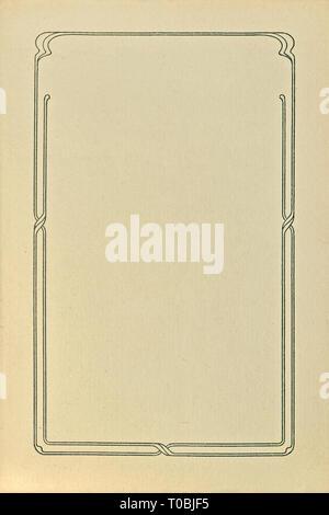 Blank Empty Beige Grunge Vintage Book Vignette Vertical Title Page Background Macro, Old Aged Weathered Letterpress Print Paper Sheet, Large Detailed - Stock Image