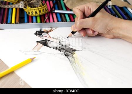Fashion Design - Stock Image