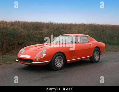 1967 Ferrari 275 GTB 4 Berlinetta 3.0 litre V12 Country of origin Italy - Stock Image