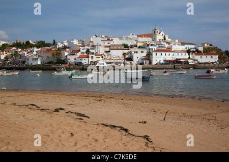 Portugal, Algarve, Ferragudo - Stock Image