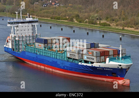 Containership Anna Sirkka - Stock Image