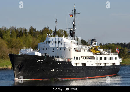 Norwegian training ship Sjokurs - Stock Image