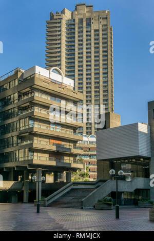 Barbican estate. - Stock Image