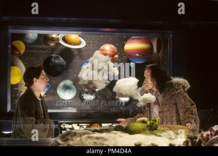 Film Still from 'The Hitchhiker's Guide to the Galaxy' Martin Freeman, Bill Nighy 2005 Photo Credit: Laurie Sparham - Stock Image