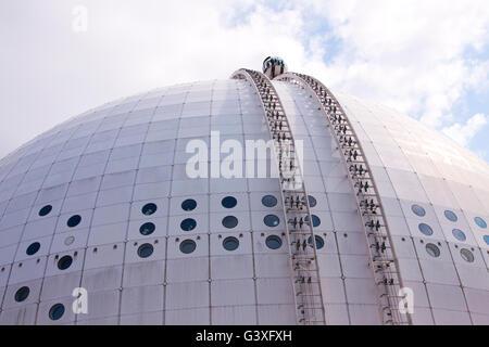 Ericsson Globe Skyview Stockholm - Stock Image