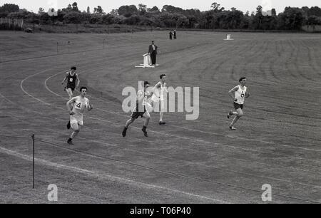1950s, Amateur athletics, England, UK. - Stock Image