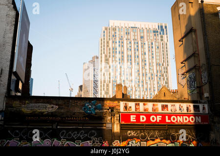Ed of London, shop in East London - Stock Image
