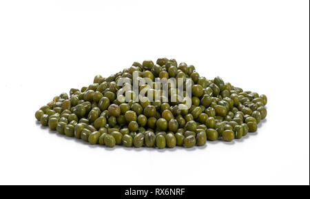 Whole Moong Beans - Stock Image