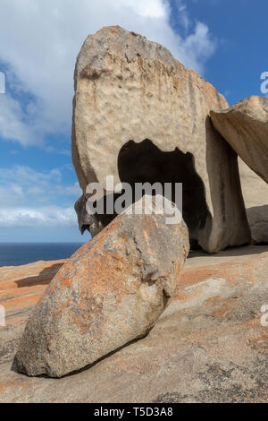 Remarkable Rocks, Flinders Chase National Park, Kangaroo Island, South Australia - Stock Image