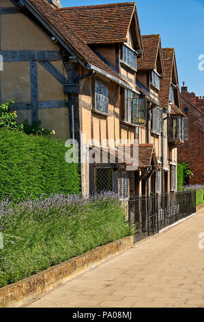Stratford upon Avon, Warwickshire, England and the historic home of William Shakespeare. - Stock Image