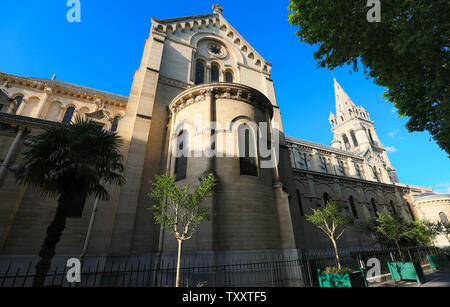 The Catholic Saint Pierre church in Neuilly-sur-Seine , France. - Stock Image