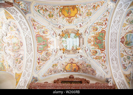 Residenz - a king's palace and official residence in the capital of Bavaria, city of Munich, Germany - Stock Image