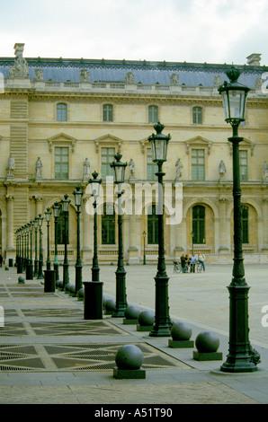 Musee du Louvre, Paris, Ile de France - Stock Image