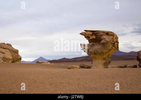 Arbol de Piedra, Siloli, Bolivia - Stock Image