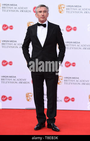 London, UK. 12th May, 2019. LONDON, UK. May 12, 2019: Steve Coogan arriving for the BAFTA TV Awards 2019 at the Royal Festival Hall, London. Picture: Steve Vas/Featureflash Credit: Paul Smith/Alamy Live News - Stock Image