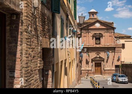 Chiesa di San Giuseppe, Siena, Tuscany, Italy - Stock Image
