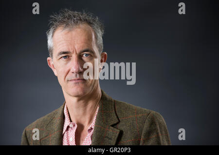 English writer Geoff Dyer. - Stock Image