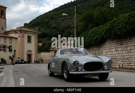 Gubbio, Italy. 19th, May 2017.  Crew composed by Remon Leonard Vos and and Roman Hendrik Jung from Czech Republic - Stock Image