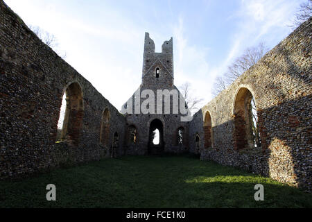 St Peter and St Paul Church, Tunstall, Norfolk - Stock Image