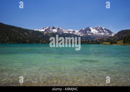 June Lake in the June Lake Loop, Inyo National Forest, California, USA - Stock Image