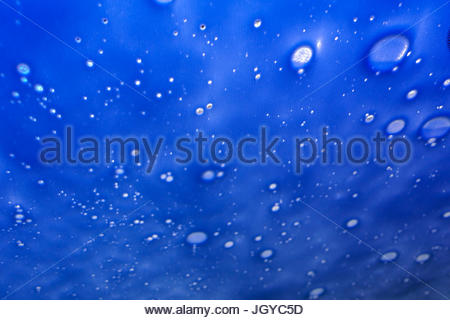 abstract background water foam - Stock Image