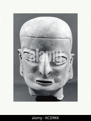 Head, from a Figure, 1st–5th century (?), Colombia or Ecuador, Tolita-Tumaco, Ceramic, H x W: 12 1/2 x 8in. (31.8 - Stock Image