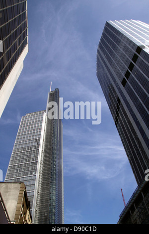 Skyscrapers in the City of London - Stock Image