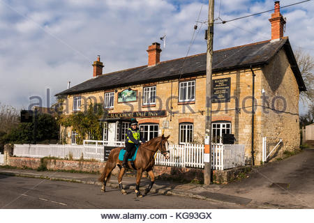 Blackore Vale Public House in Marnhull Dorset UK - Stock Image