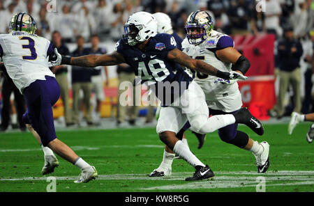 Glendale, AZ, USA. 30th Dec, 2017. DE Shareef Miller #48 of Penn State during the Playstation Fiesta Bowl college - Stock Image