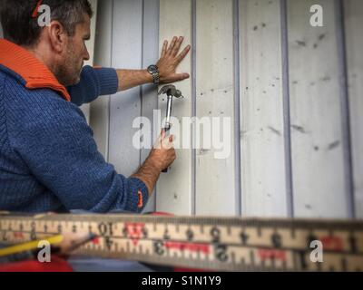 Carpenter - Stock Image